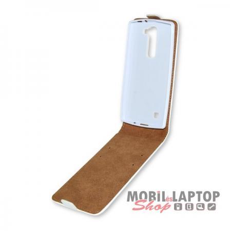 Flippes tok LG H525 G4c / H500 Magna fehér lefelé nyíló