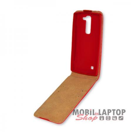 Flippes tok LG H525 G4c / H500 Magna piros lefelé nyíló