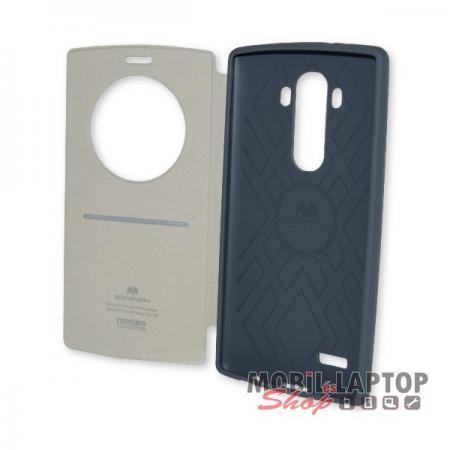 Flippes tok LG H815 G4 Viva Window Mercury oldalra nyíló fehér