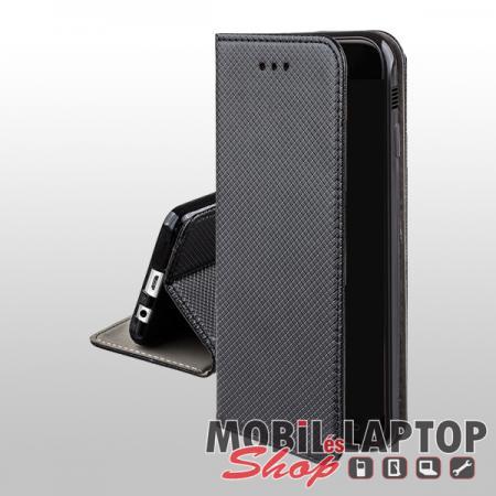 Flippes tok LG K11 / K10 (2018) fekete oldalra nyíló
