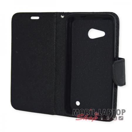 Flippes tok Microsoft Lumia 550 fekete oldalra nyíló Fancy