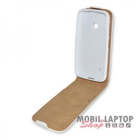 Flippes tok Nokia Lumia 530 fehér lefelé nyíló