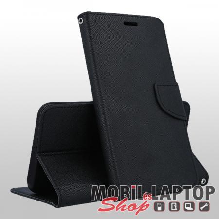 Flippes tok Samsung A105 Galaxy A10 fekete oldalra nyíló fancy