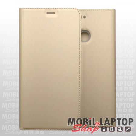 Flippes tok Samsung A202 Galaxy A20e arany oldalra nyíló