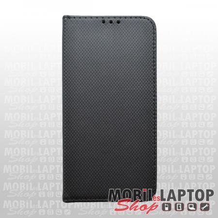 Flippes tok Samsung A215 Galaxy A21 fekete oldalra nyíló
