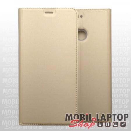 Flippes tok Samsung A405 Galaxy A40 arany oldalra nyíló