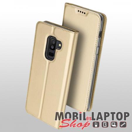 Flippes tok Samsung A605 Galaxy A6 Plus (2018) arany oldalra nyíló