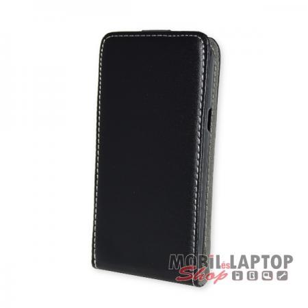 Flippes tok Samsung G390 Galaxy Xcover 4 fekete lefelé nyíló