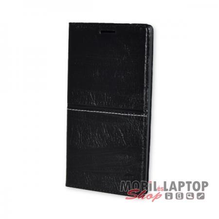 Flippes tok Samsung G920 Galaxy S6 fekete oldalra nyíló