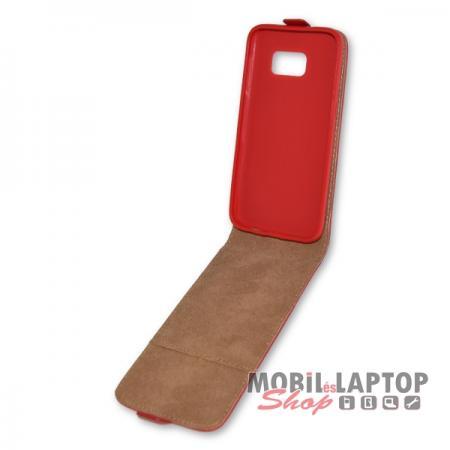 Flippes tok Samsung G930 Galaxy S7 piros lefelé nyíló