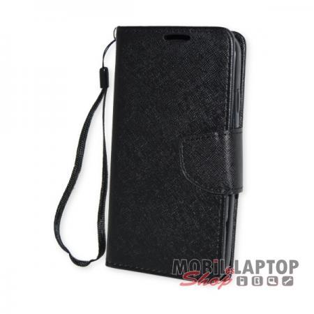 Flippes tok Samsung I9500 / I9505 / I9515 Galaxy S4 fekete oldalra nyíló Fancy
