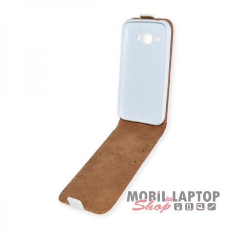 Flippes tok Samsung J100 Galaxy J1 fehér lefelé nyíló