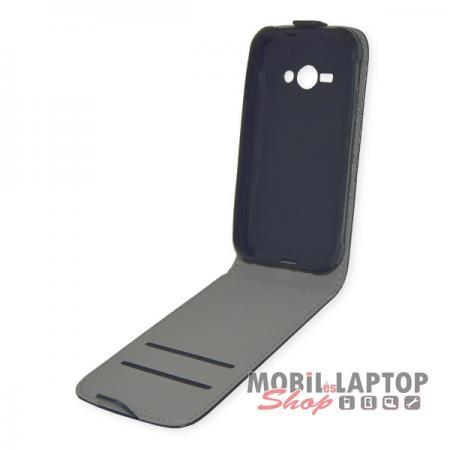 Flippes tok Samsung J110 Galaxy J1 Ace fekete lefelé nyíló