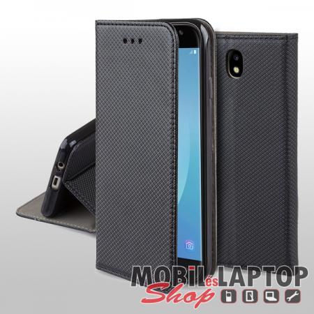 Flippes tok Samsung J330 Galaxy J3 (2017) fekete oldalra nyíló