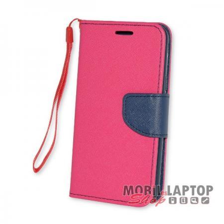 Flippes tok Samsung J330 Galaxy J3 (2017) rózsaszín-kék oldalra nyíló Fancy