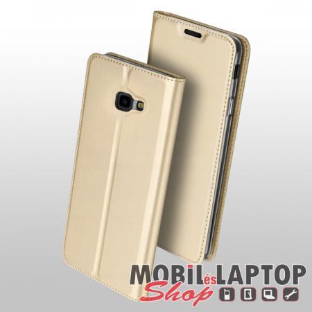 Flippes tok Samsung J415 Galaxy J4 Plus arany oldalra nyíló