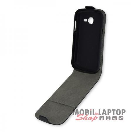 Flippes tok Samsung S7390 Galaxy Trend Lite fekete lefelé nyíló