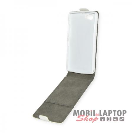 Flippes tok Sony D5503 Xperia Z1 Compact Mini fehér lefelé nyíló
