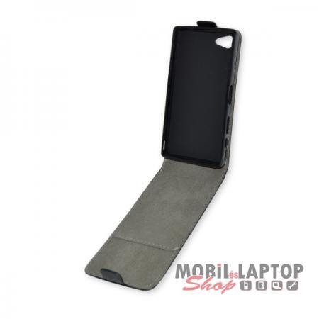 Flippes tok Sony E5803 Xperia Z5 Compact fekete lefelé nyíló