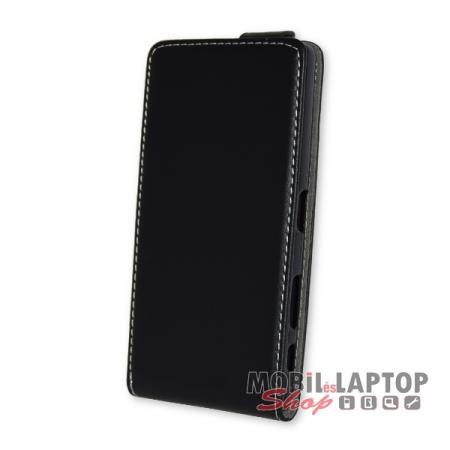 Flippes tok Sony F5122 Xperia X fekete lefelé nyíló
