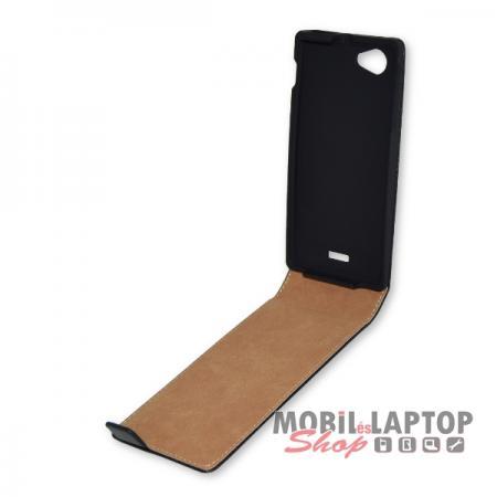 Flippes tok Sony ST26I Xperia J fekete lefelé nyíló