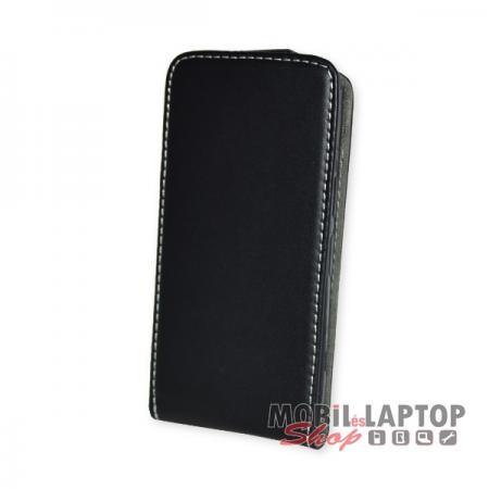 Flippes tok Sony Xperia XZ1 Compact fekete lefelé nyíló