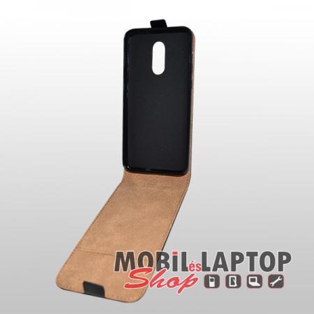 Flippes tok Xiaomi Redmi 5 Plus fekete lefelé nyíló