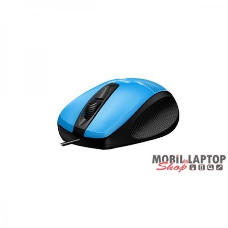 Genius DX-150x USB kék-fekete egér
