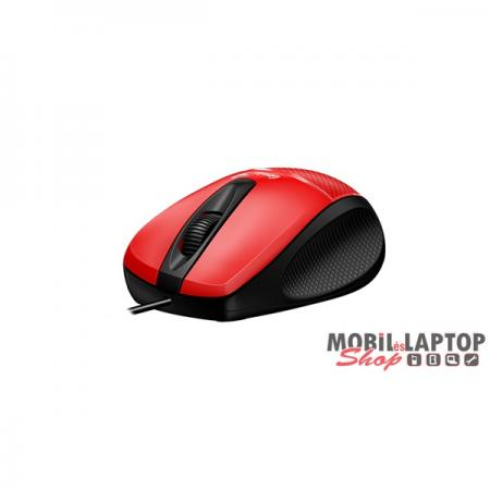 Genius DX-150x USB piros-fekete egér