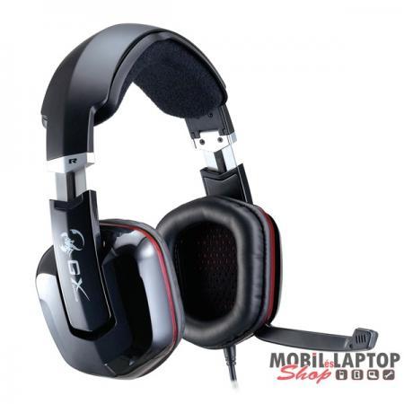 Genius HS-G700V Cavimanus USB fekete gamer headset