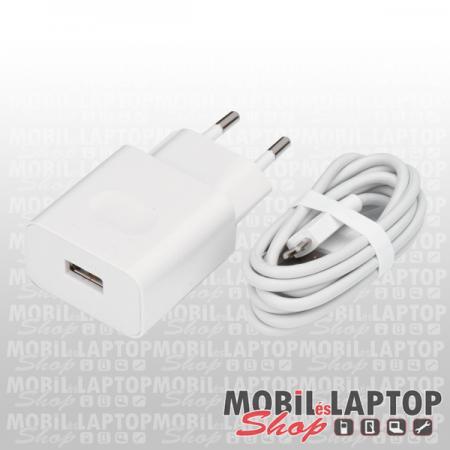 Hálózati töltő Huawei USB Type-C 2000mAh fehér ( HW-090200EH0 + HL-1289 ) gyorstöltés támogatás