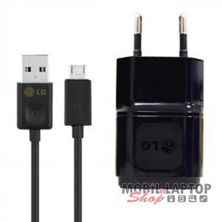 Hálózati töltő LG Micro USB 1800mAh fekete ( MCS-02ED + EAD62377903 )