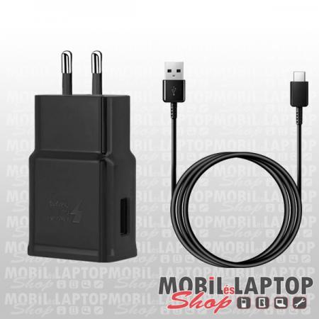 Hálózati töltő Samsung USB Type-C 2000mAh fehér ( EP-TA200 + EP-DW700CWE ) gyorstöltés támogatás