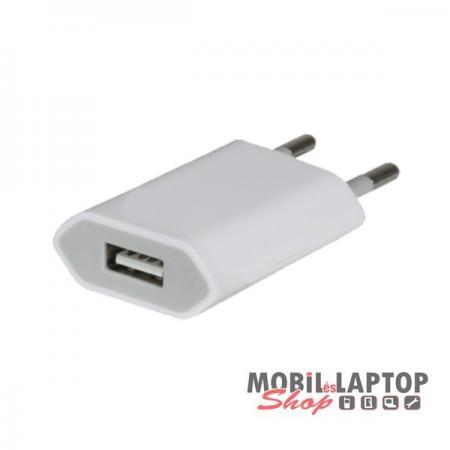 Hálózati töltő univerzális USB adapter 1 Amper
