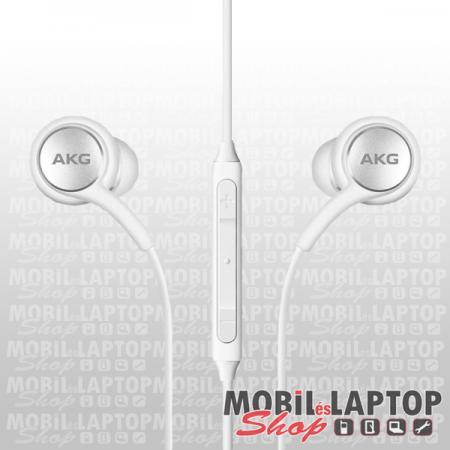 Headset sztereo AKG Samsung Galaxy S8 fehér 3,5mm EO-IG955-HF