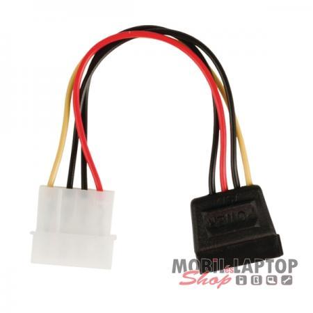 Kábel SATA 1-2 Táp 0,15 / 1 méter
