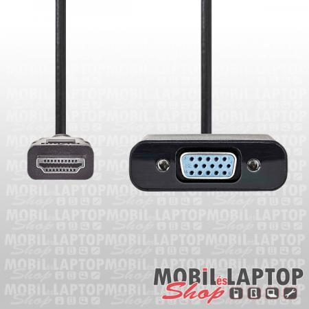 Kábel VGA / HDMI átalakító +3,5mm jack adapter CCGP34900BK02