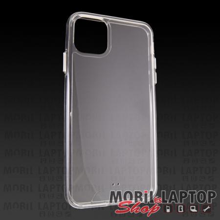 """Kemény hátlap Apple iPhone 11 Pro Max ( 6,5"""" ) ütésálló műanyag + gumi átlátszó"""