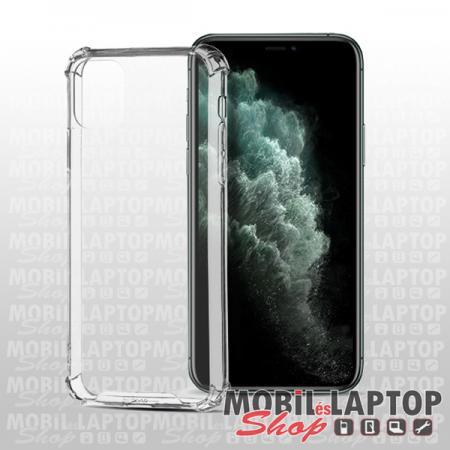 """Kemény hátlap Apple iPhone 12 Mini ( 5,4"""" ) ütésálló műanyag + gumi átlátszó"""