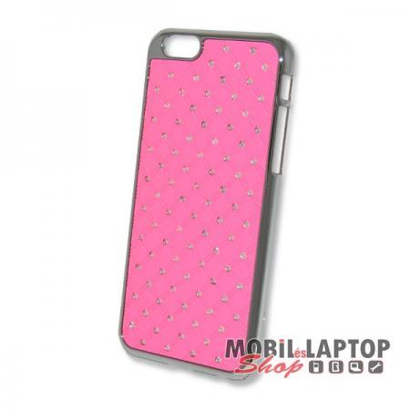 Kemény hátlap Apple iPhone 6 / 6S rózsaszín strasszköves