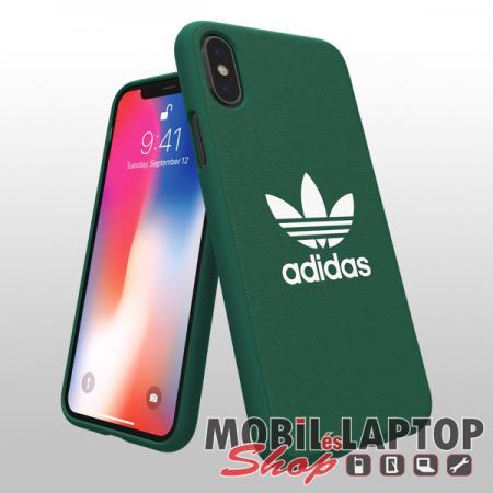 """Kemény hátlap Apple iPhone X. / XS. ( 5,8"""" ) Zöld ADIDAS Moulded"""