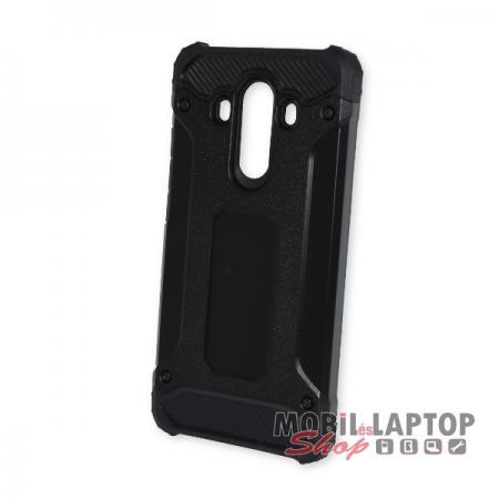Kemény hátlap Huawei Mate 10 ütésálló műanyag + gumi fekete