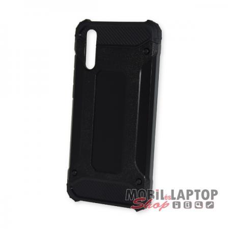 Kemény hátlap Huawei P20 ütésálló műanyag + gumi fekete