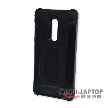 Kemény hátlap Nokia 5 (2017) ütésálló műanyag + gumi fekete