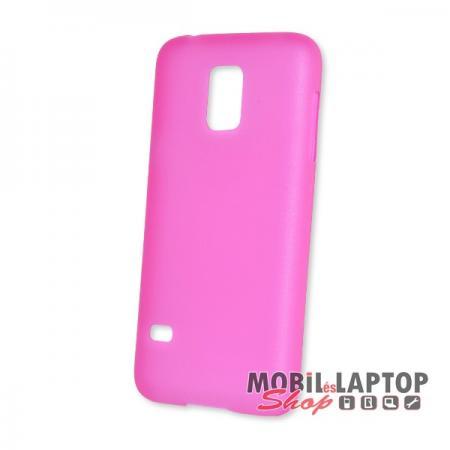 Kemény hátlap Samsung G800 Galaxy S5 Mini vékony rózsaszín