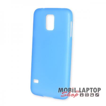 Kemény hátlap Samsung G900 / I9600 Galaxy S5 vékony kék