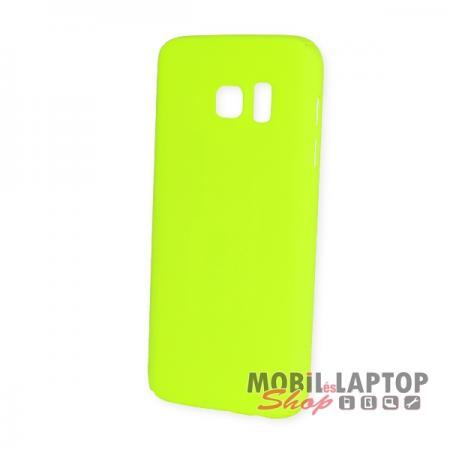 Kemény hátlap Samsung G930 Galaxy S7 zöld