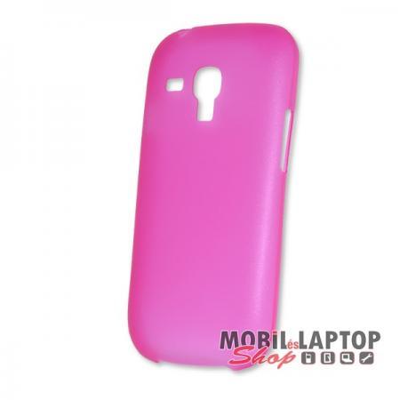 Kemény hátlap Samsung I8190 / I8200 Galaxy S3 Mini vékony rózsaszín