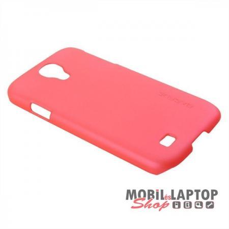 Kemény hátlap Samsung I9500 / I9505 / I9515 Galaxy S4 rózsaszín BASEUS ( plusz fólia és érintő )
