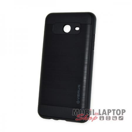 Kemény hátlap Samsung J530 Galaxy J5 (2017) ütésálló műanyag + gumi fekete